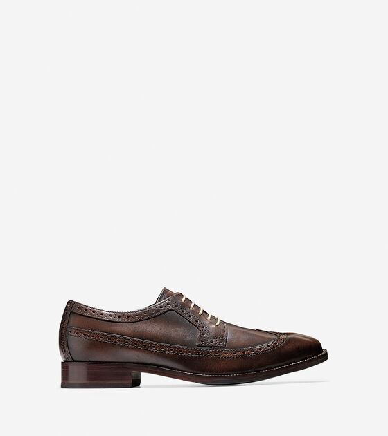 Shoes > Williams Long Wingtip Oxford