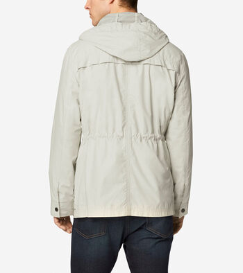 Garment Washed Hooded Jacket