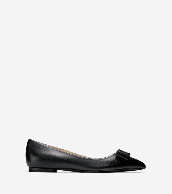 Ballet Flats > Tali Bow Skimmer Flat