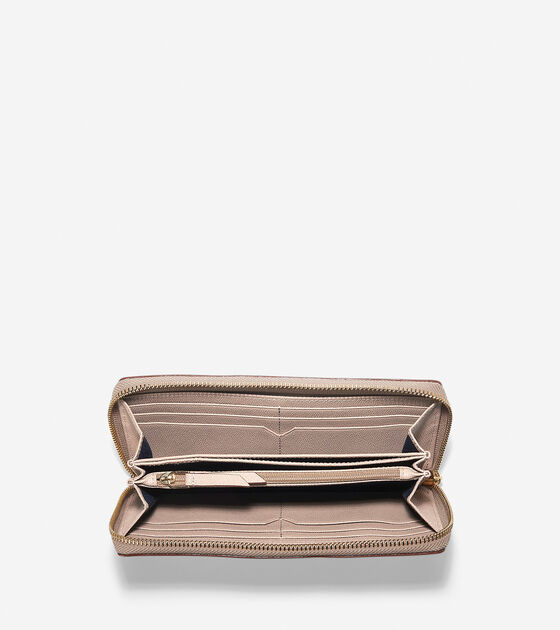 Eva Continental Zip Wallet