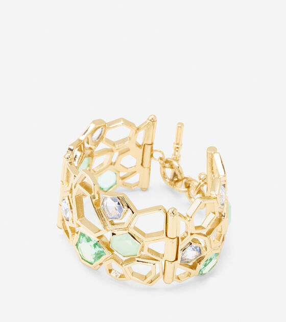 Accessories > Large Openwork Stone Bracelet