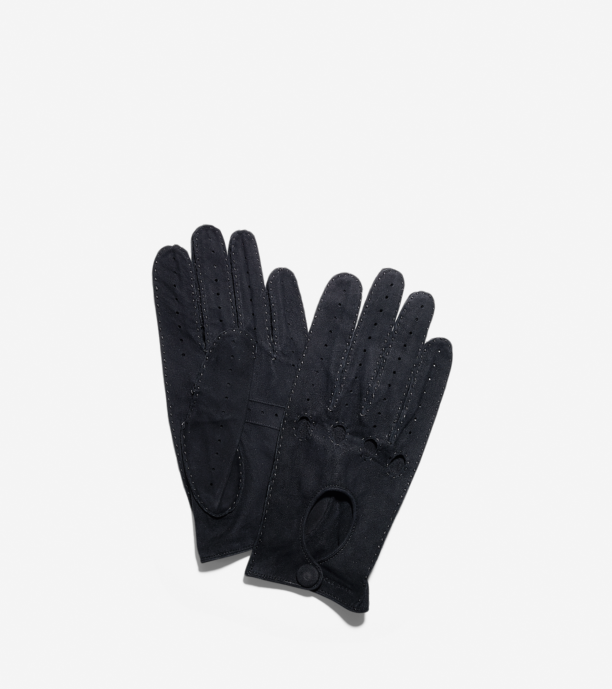 Patent leather driving gloves - Leather Driving Gloves