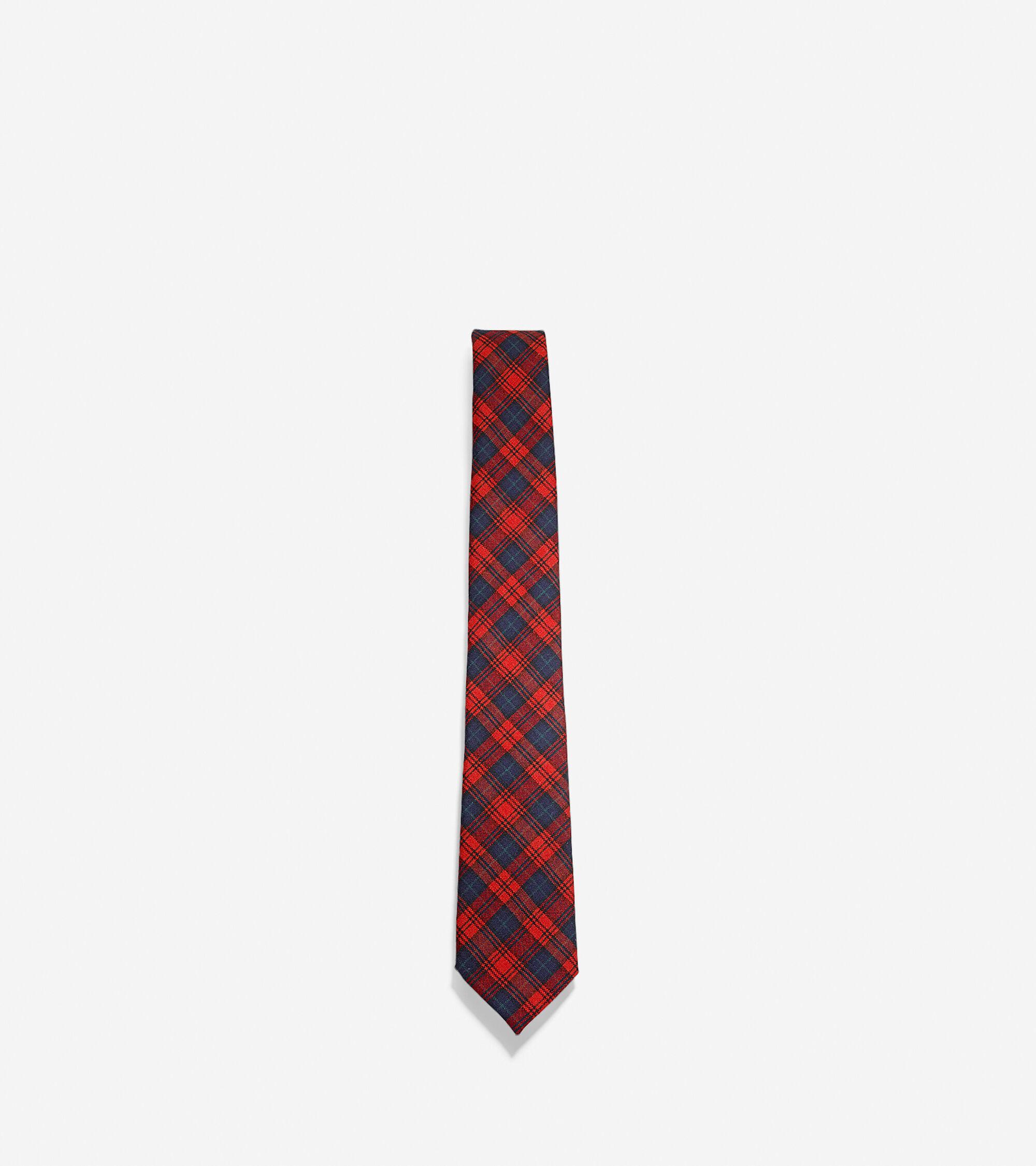 Accessories > Fahlgren - Wool Plaid Tie