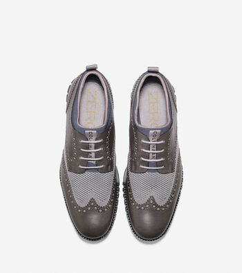 Men's ZERØGRAND Short Wingtip Oxford