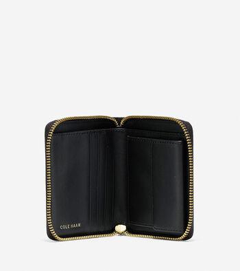 Marli Studded Small Zip Wallet