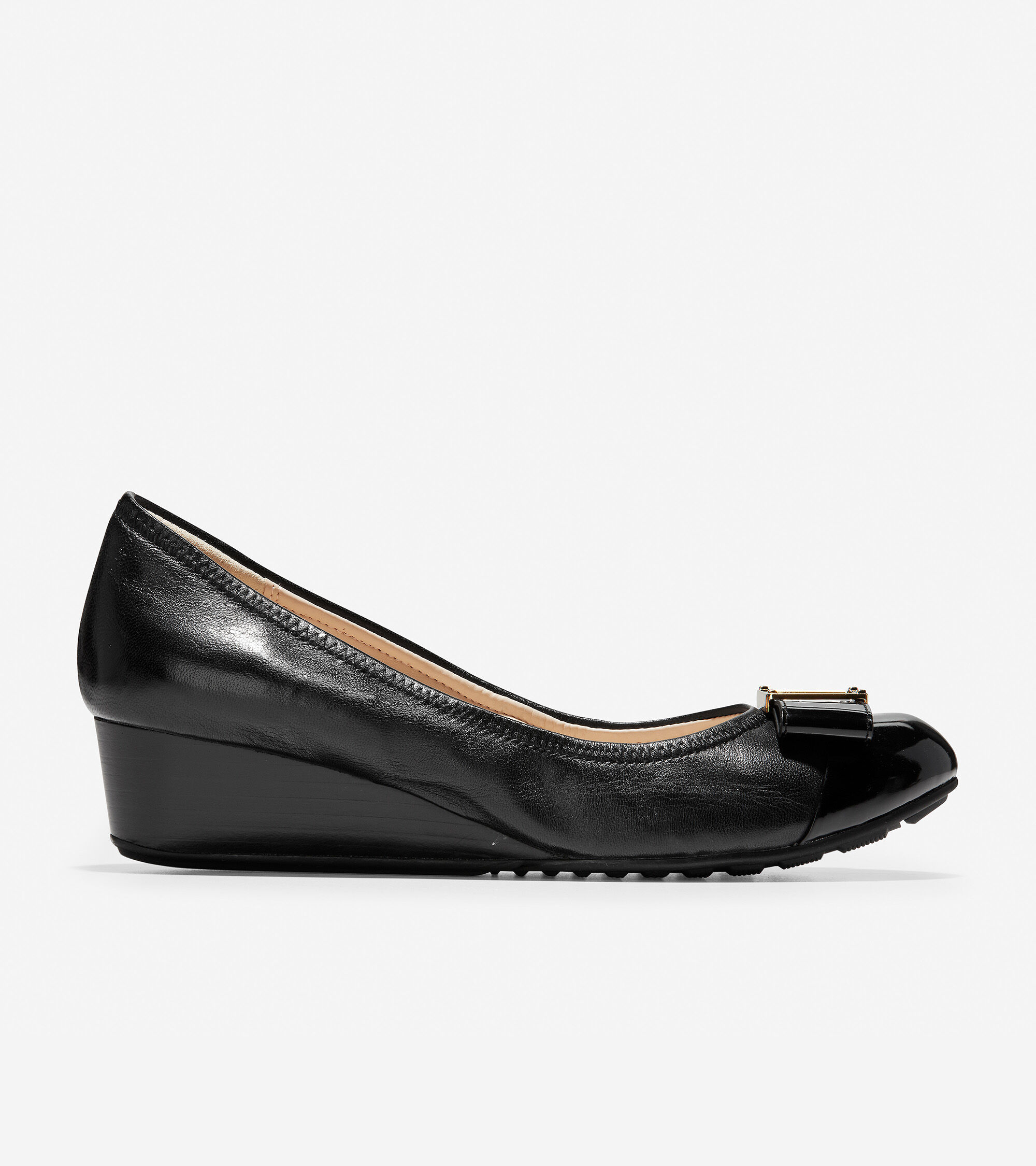 Emory 40mm Bow Wedge II Cole Haan