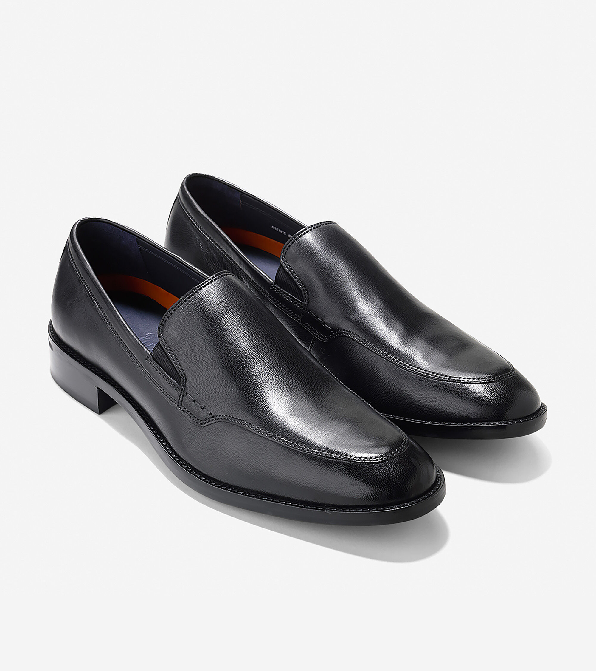 Cole Haan loafers Men's 10.5 M Lenox Hill Slip-On Black Leather