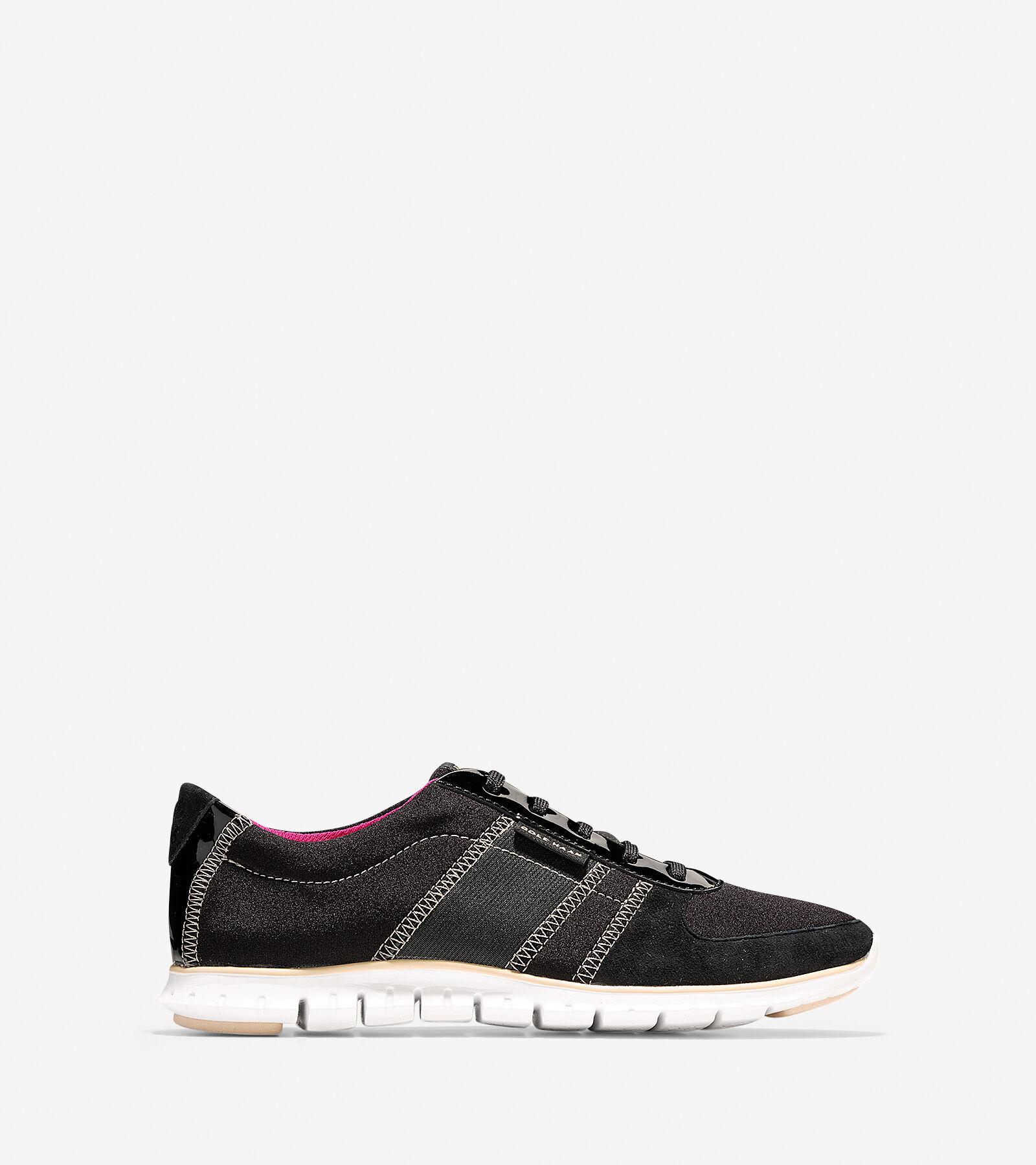 Womens Shoes Cole Haan Zerogrand Sneaker Black/Black Shimmer