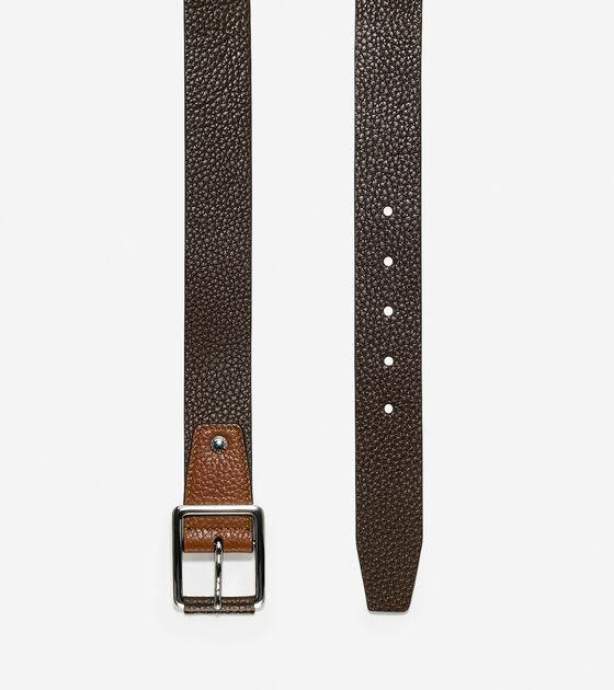 35mm Pebble Leather Belt