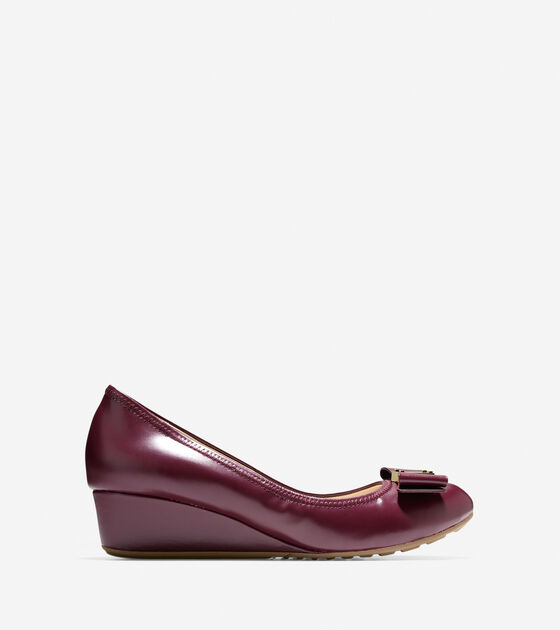 Shoes > Tali Grand Waterproof Bow Wedge (40mm)