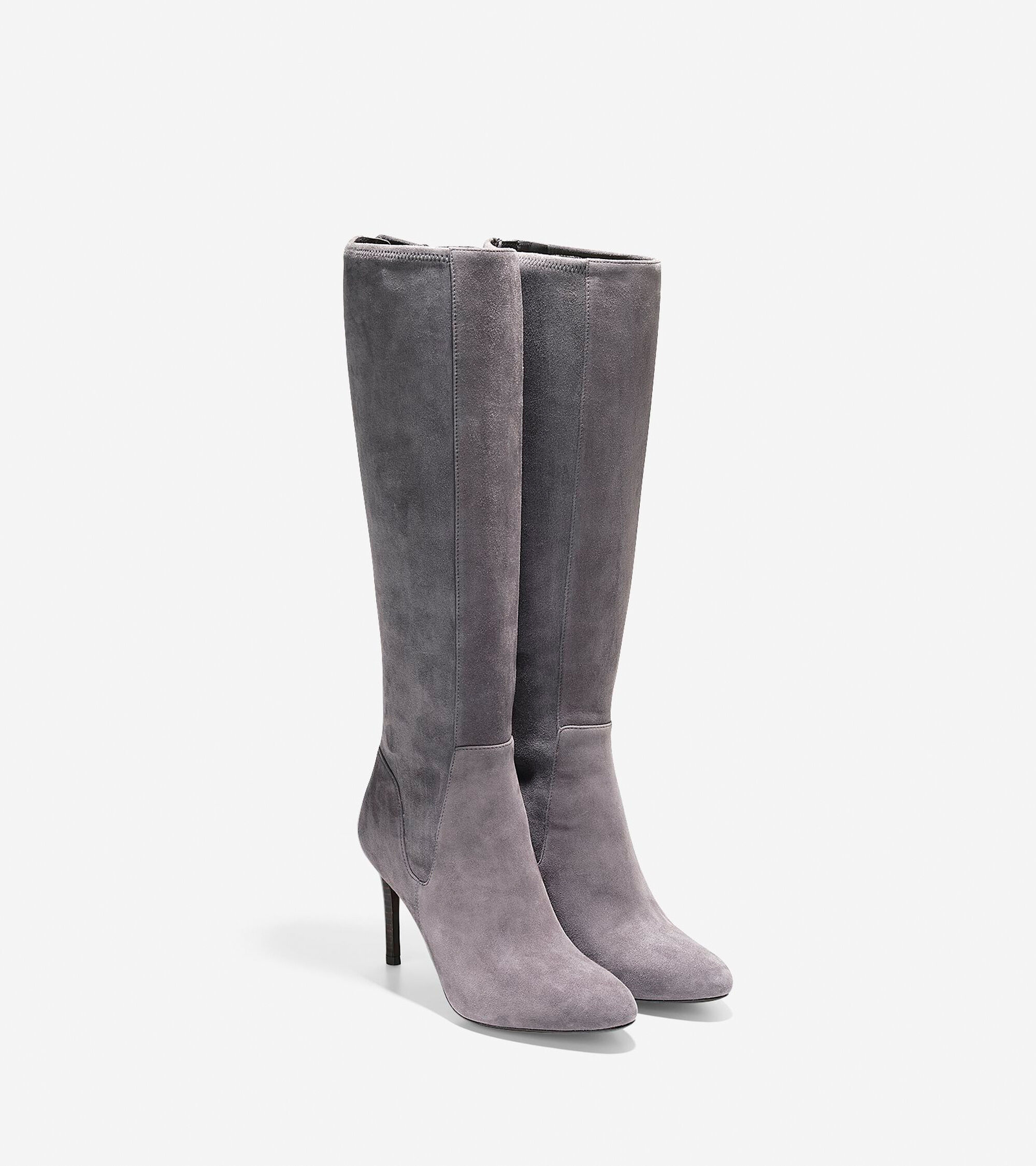 Women\'s Narelle Tall Boots 85mm in Stormcloud | Cole Haan