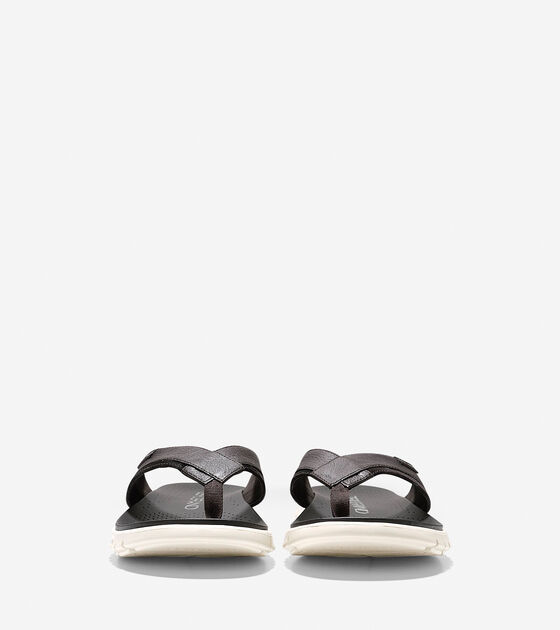 Men's ZERØGRAND Fold Thong Sandal
