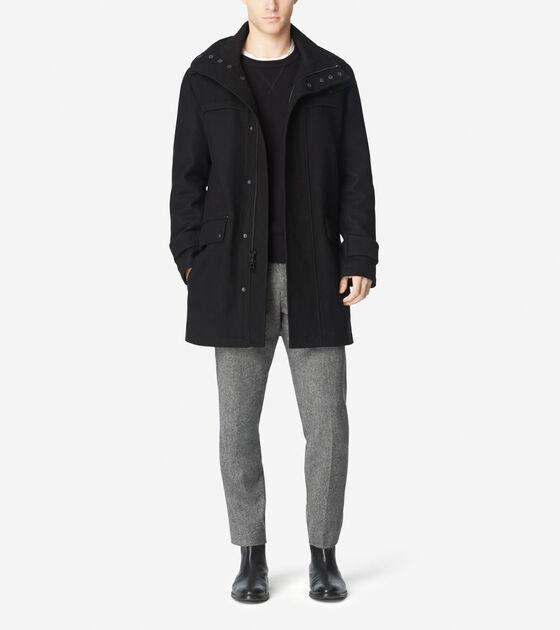 Outerwear > Melton Duffle Parka