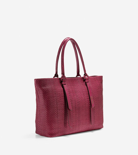 Bethany Weave Large Tote