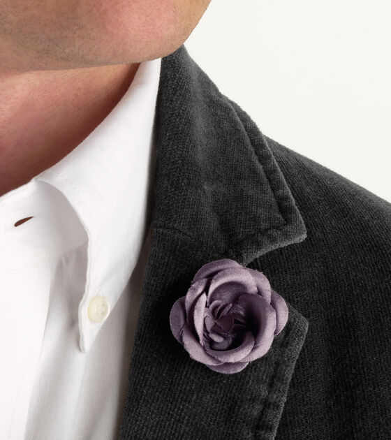 hook + ALBERT - Lapel Flower Rose