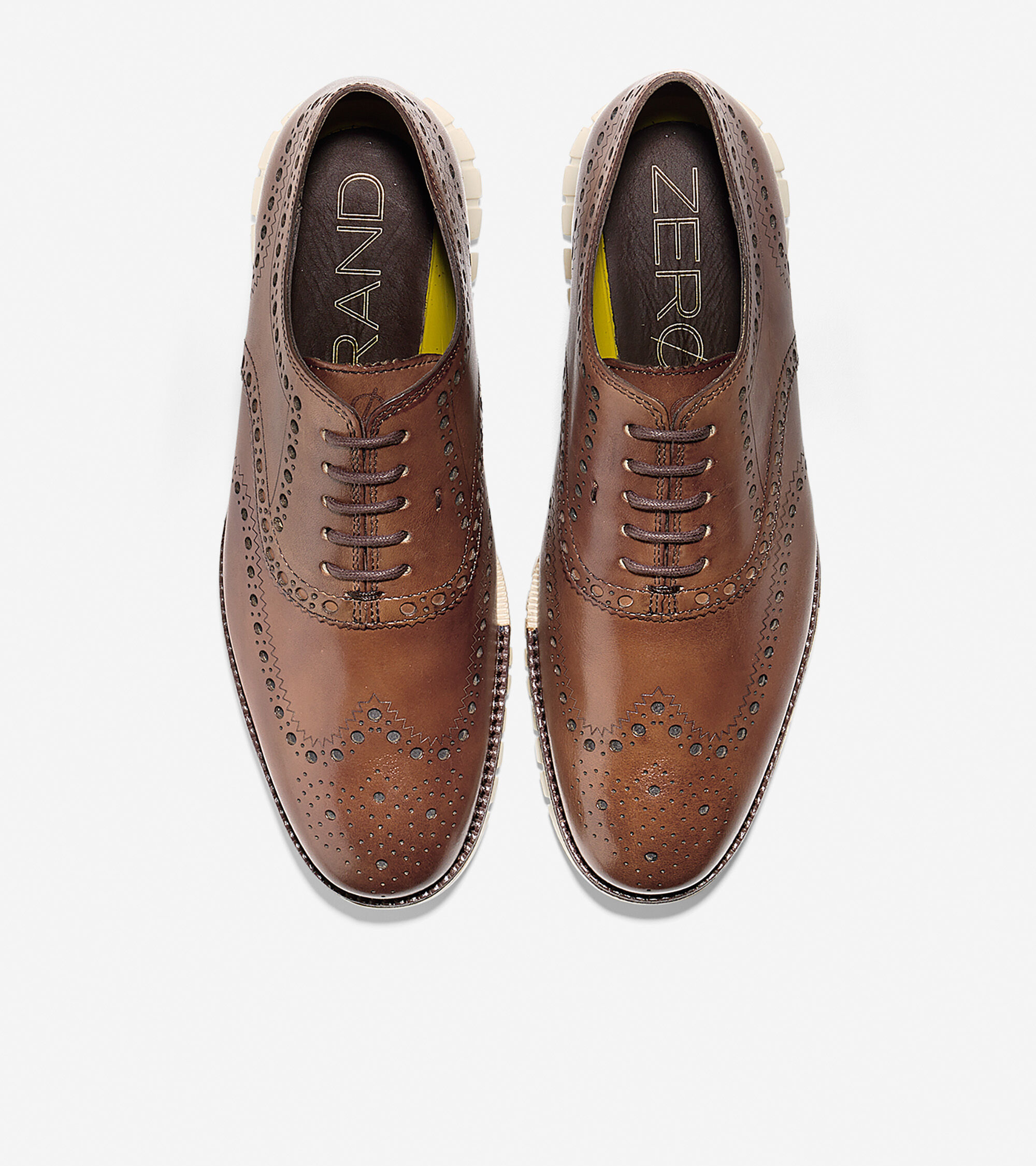 ... Men's ZERØGRAND Wingtip Oxford ...