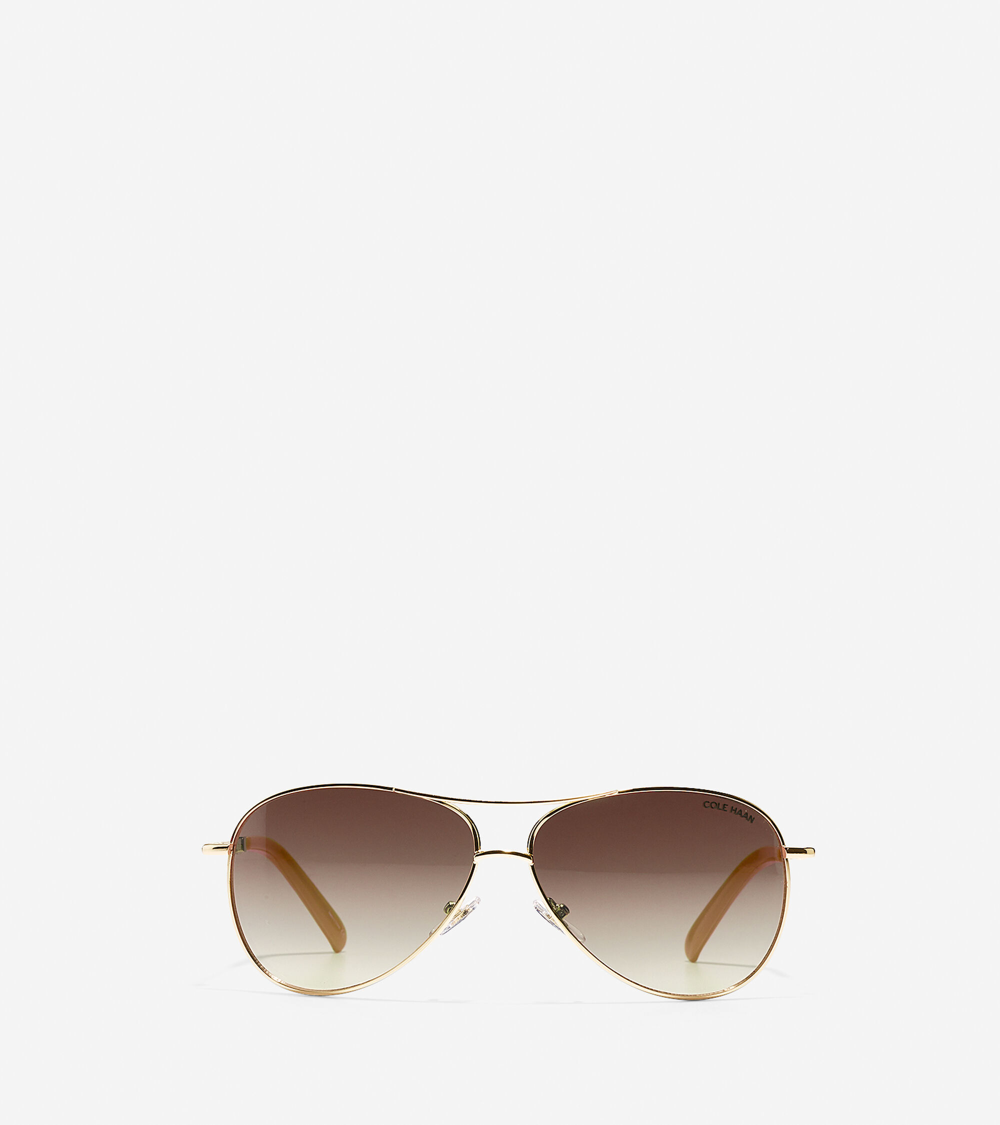 Accessories > Classic Metal Aviator Sunglasses