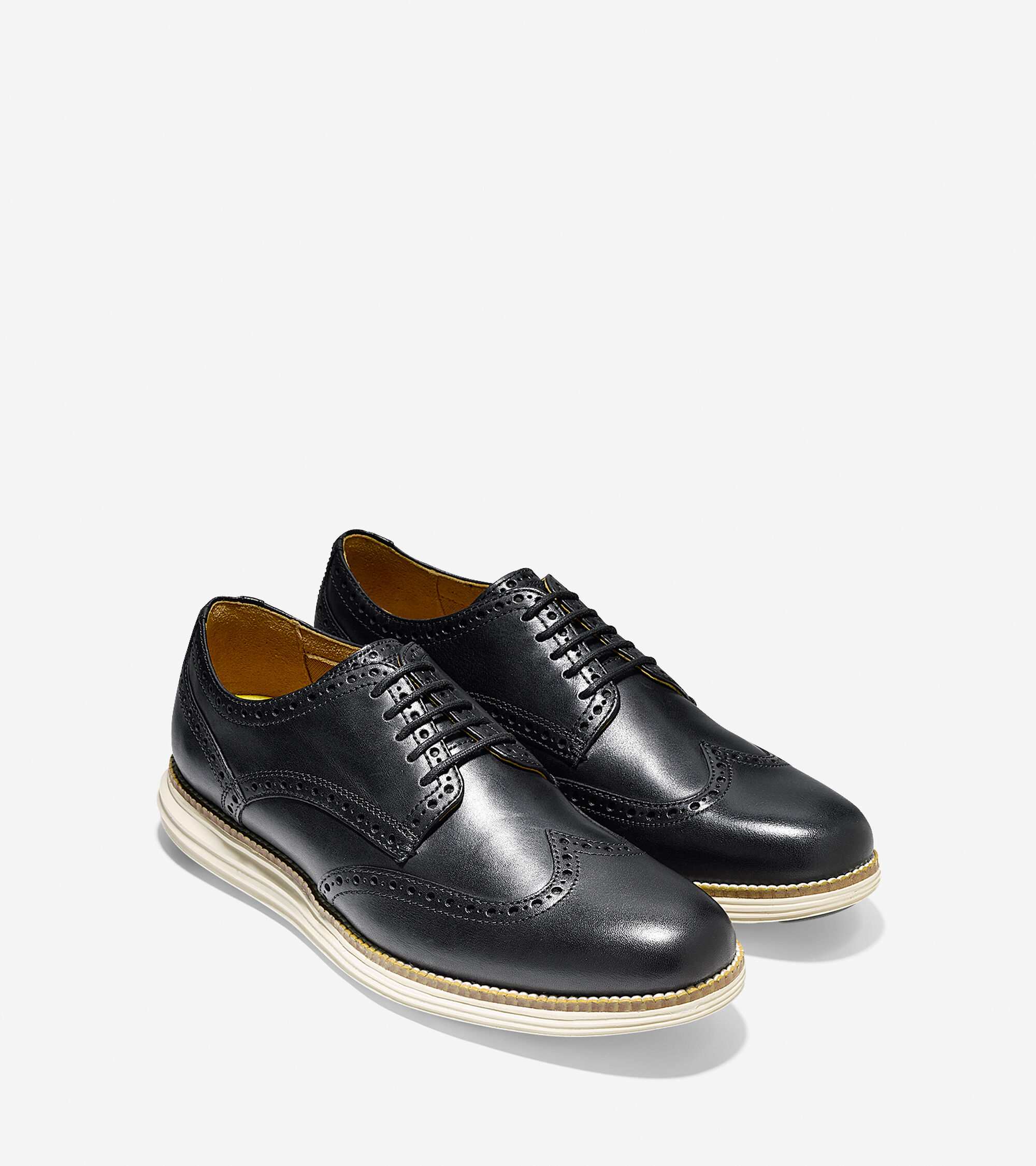 Black And White Wingtip Shoes For Women