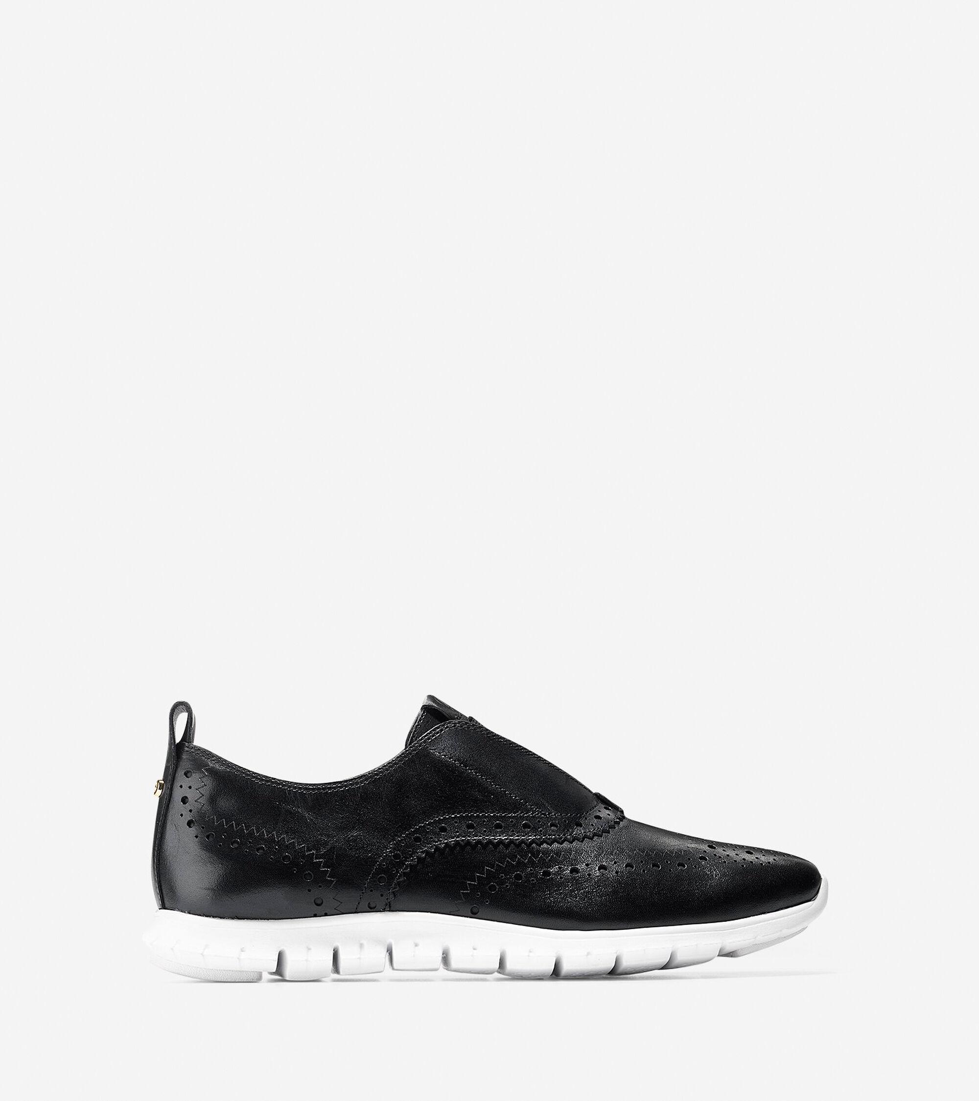 Shoes > ZERØGRAND Slip On Wingtip