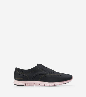 Women's ZERØGRAND Waterproof Wingtip Oxford