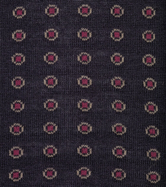 Circle Dot Merino Wool Crew