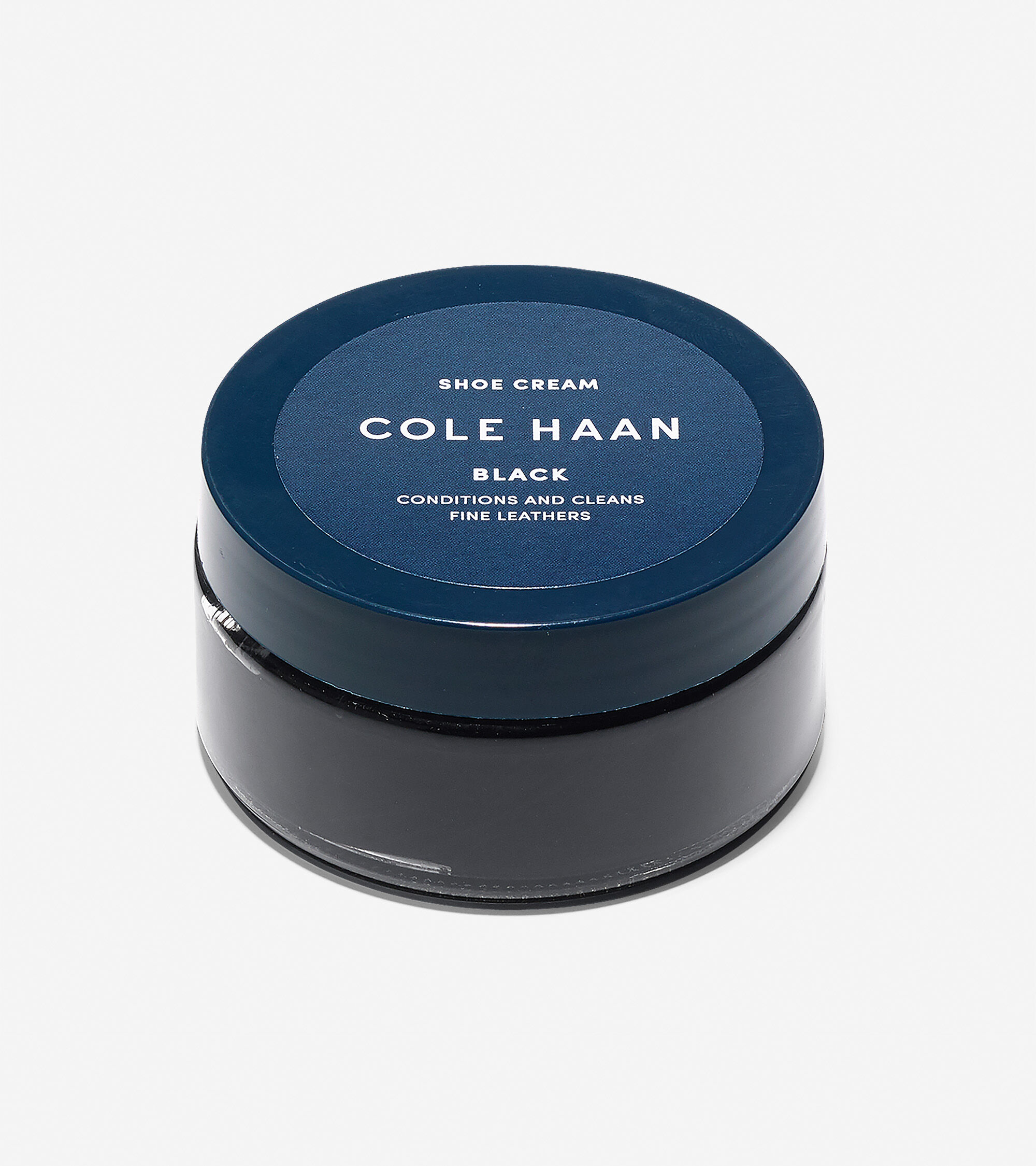 Navy Blue Leather Shoe Polish