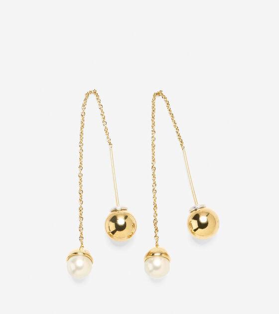 Accessories > Pearl Ear Threader
