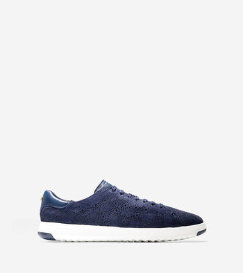 Women's GrandPrø Paisley Perforated Tennis Sneaker