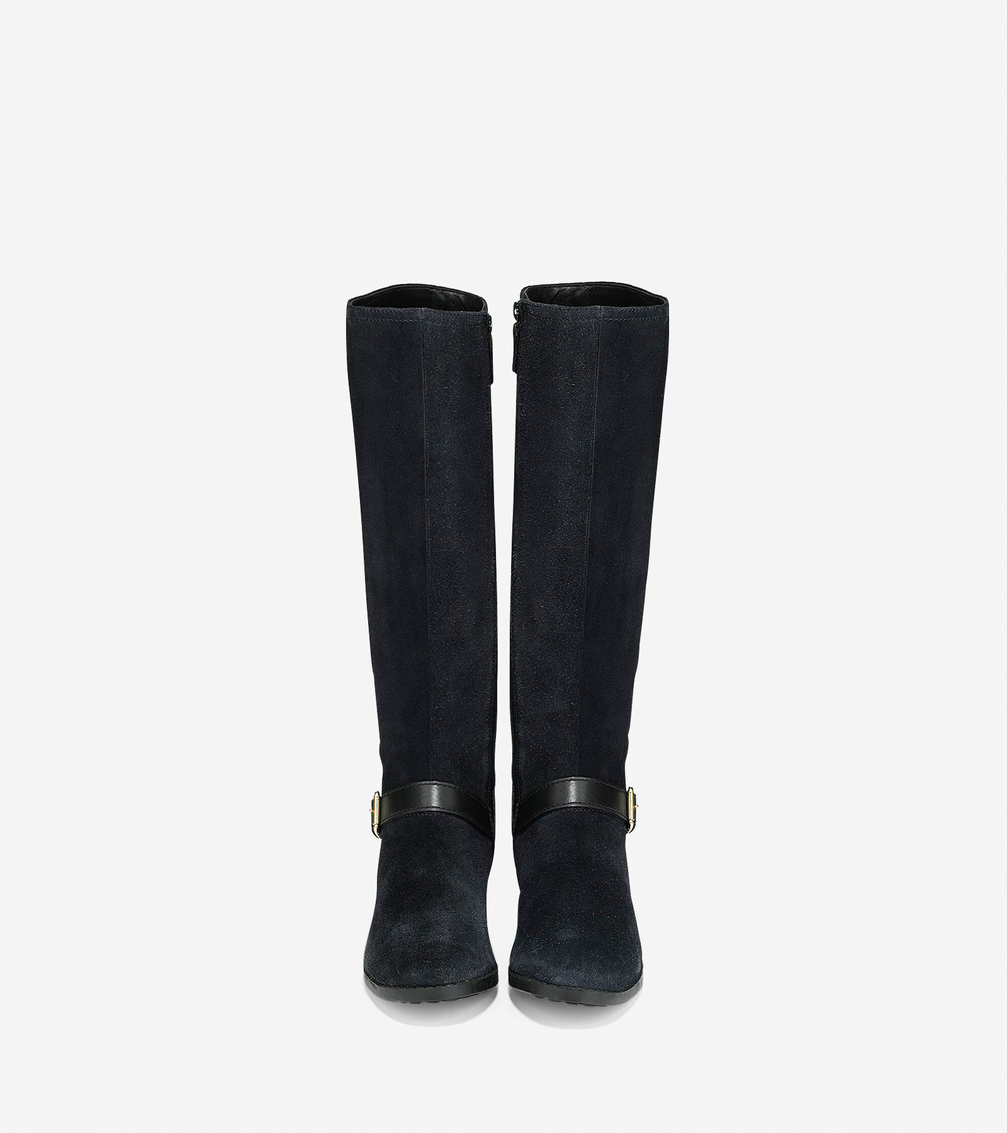 Marla Waterproof Tall Boots 30mm in Black | Cole Haan