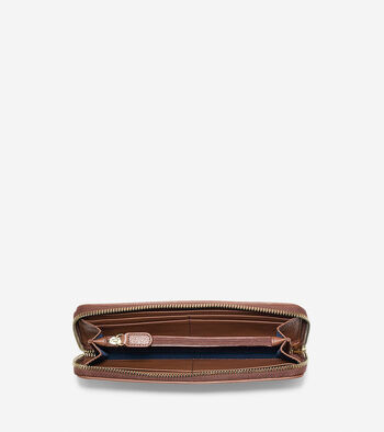 Isabella Continental Zip Wallet