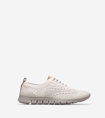 Women's ZERØGRAND Stitchlite Lined Wingtip Oxford