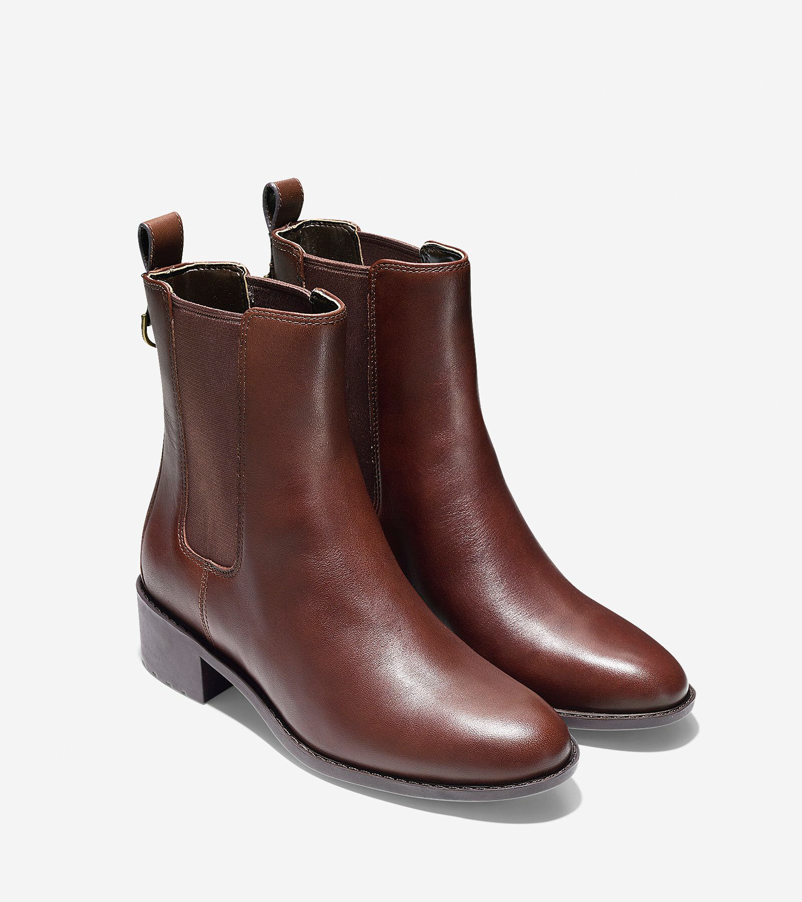 Womens Boots Cole Haan Daryl Waterproof Chestnut