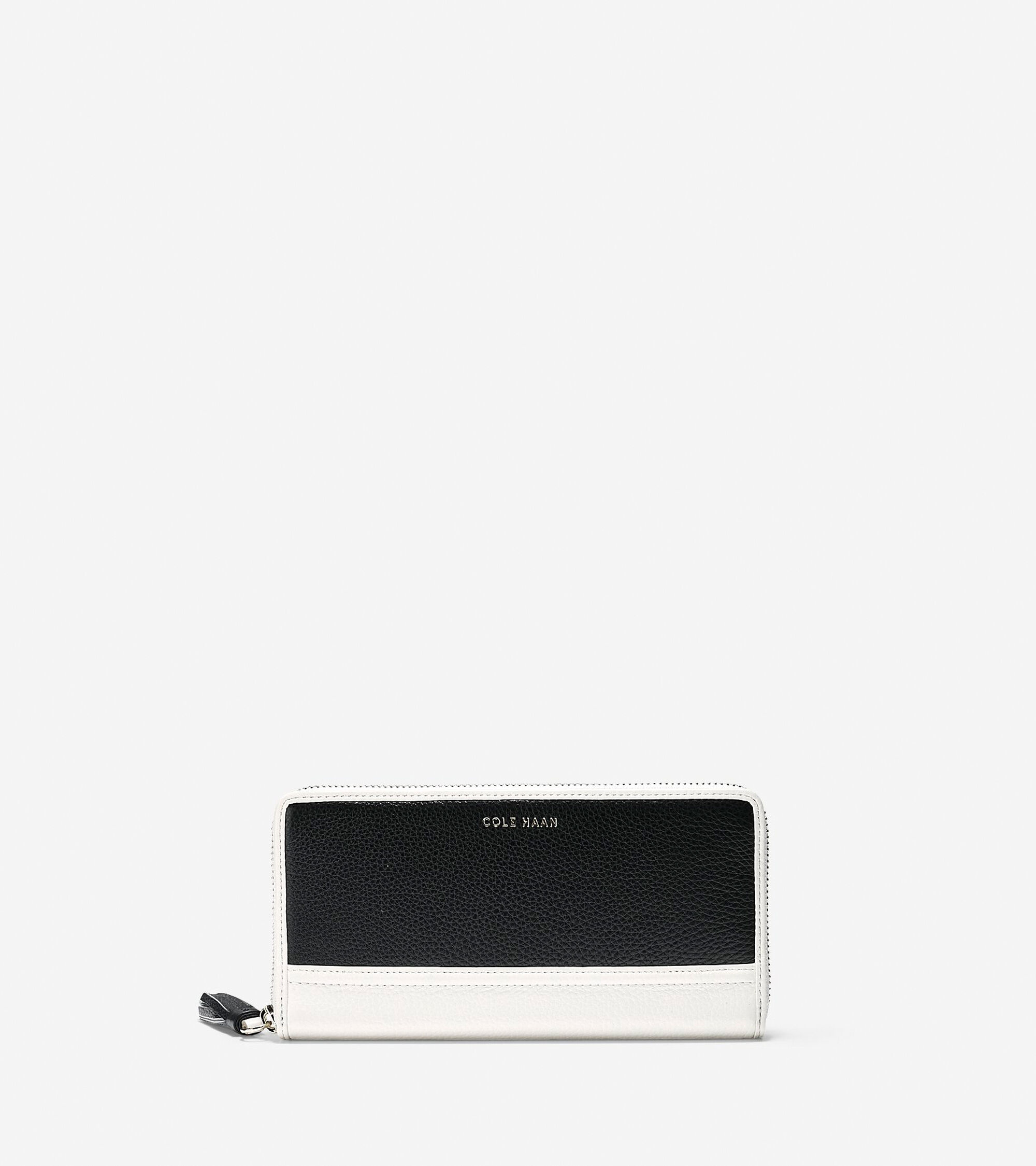 Accessories > Reiley Tassel Continental Zip Wallet