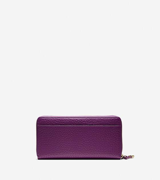 Adeline Continental Zip Wallet