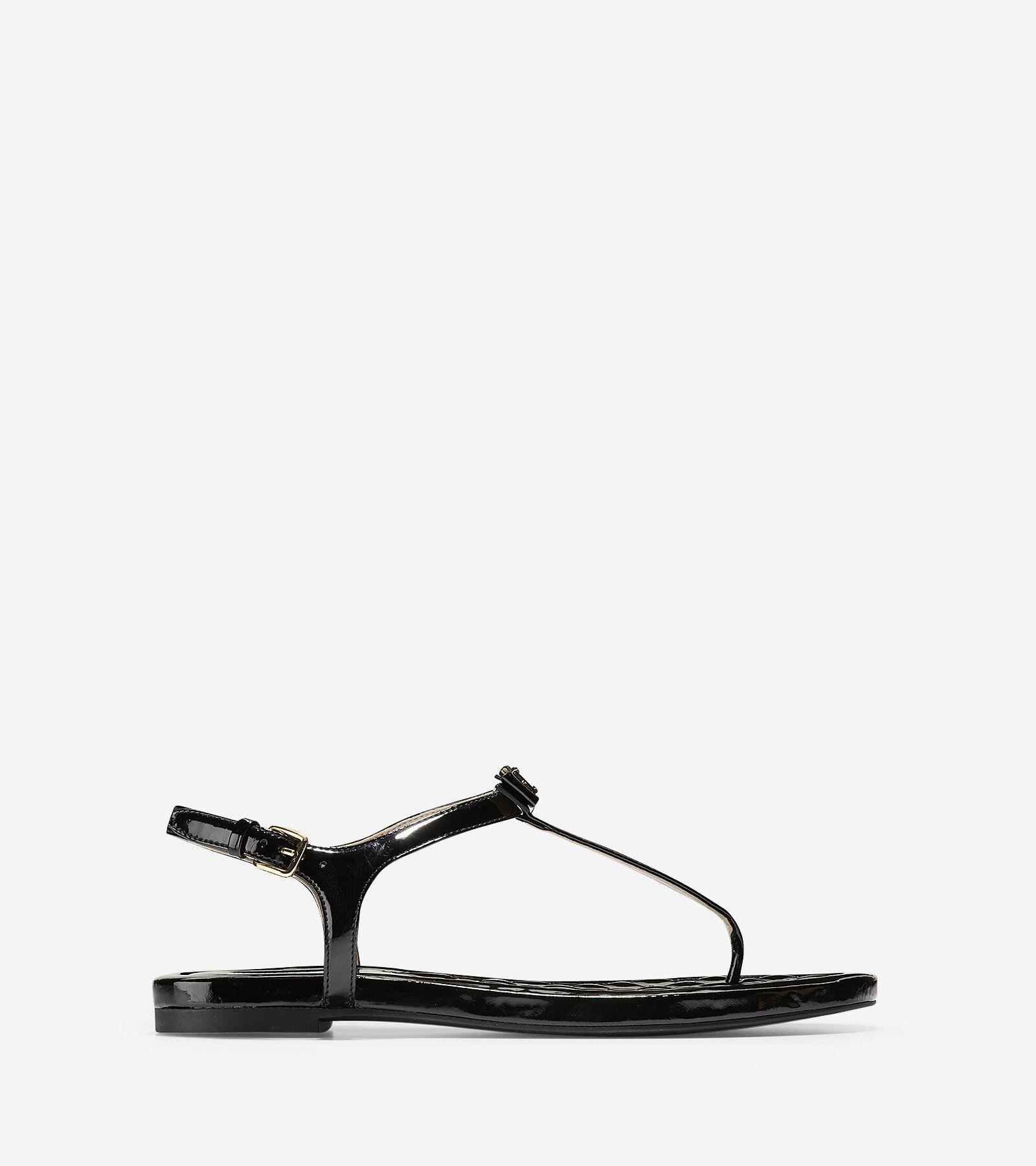 Cole Haan Tali Mini Bow Studded Leather Sandal FjDAaqC