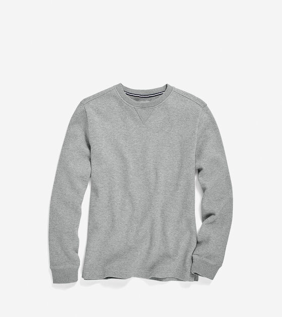 Apparel > Men's Pinch Long Sleeve Pique Crew Neck Shirt