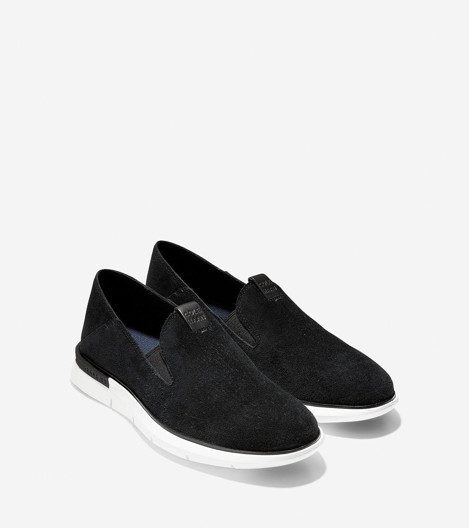 Men's Cole Haan Grand Horizon Slip On Loafer, Size: 11 M, Black/Optic White