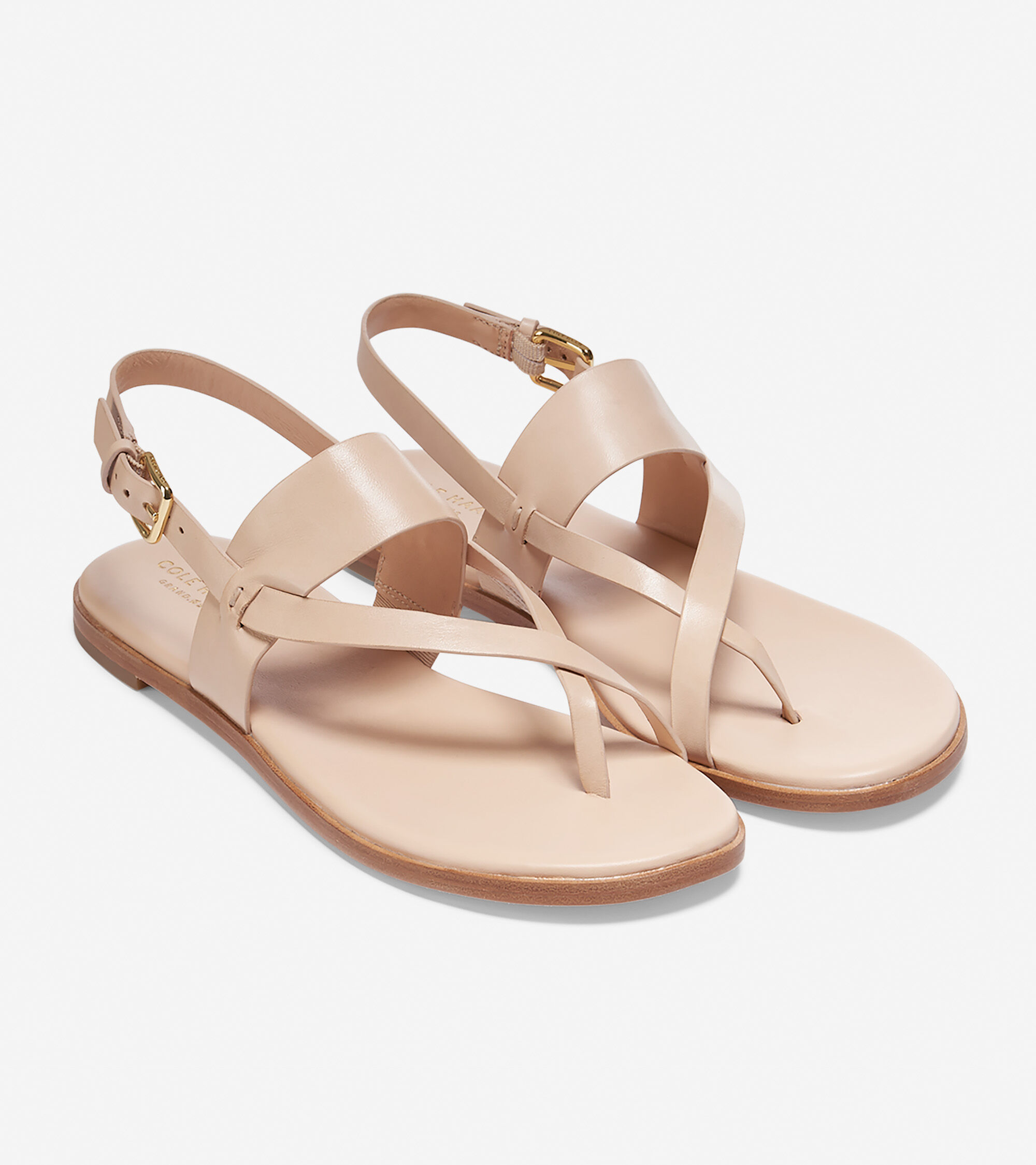Cole Haan Leather Thong Sandals high quality for sale buy cheap find great dCGELMFHjt