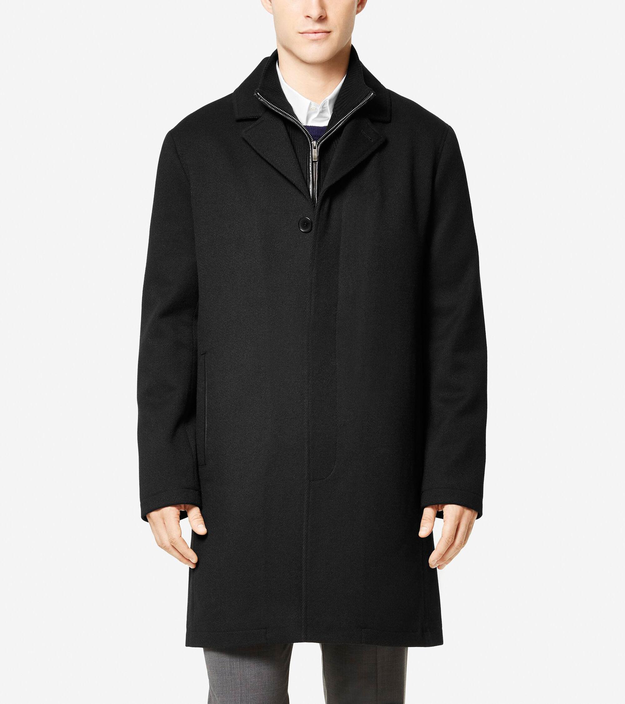 Outerwear > Modern Wool Twill Topper