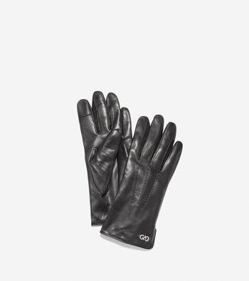 Women's Lambskin Leather Gloves