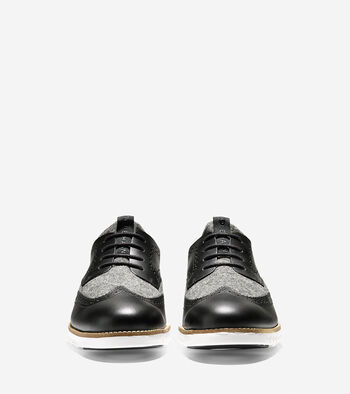 ZERØGRAND Neoprene Lined Wingtip Oxford