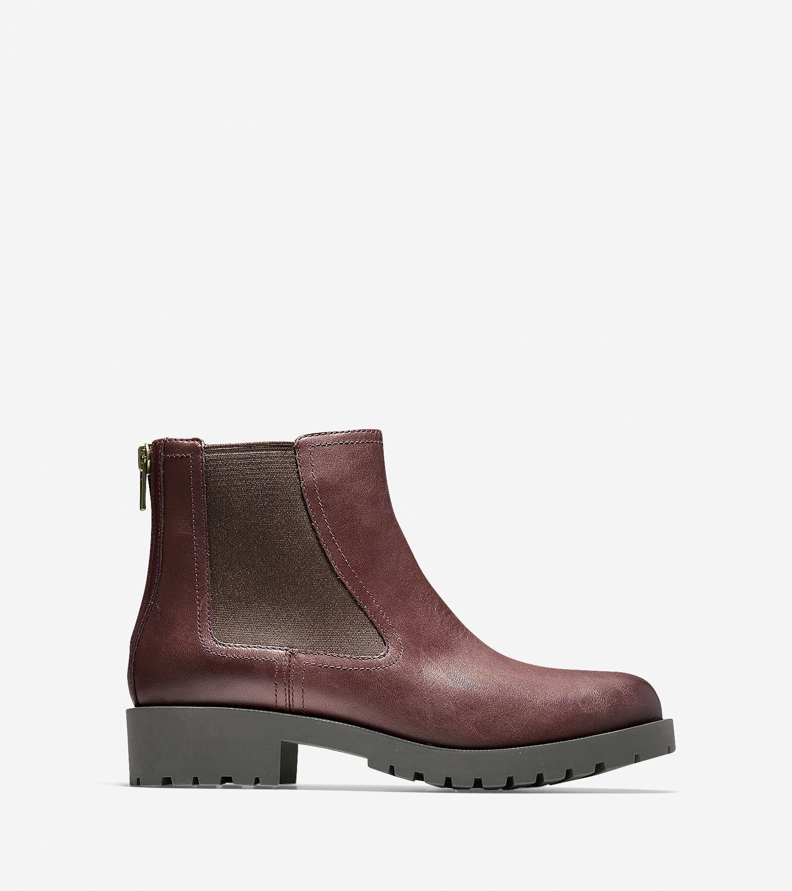 Cole Haan Abbot Beige - Chaussures Low boots Femme