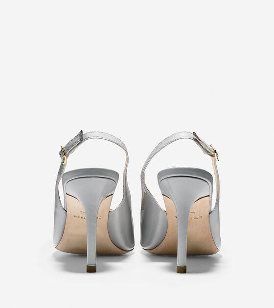 Bethany Sling (85mm) - Almond Toe