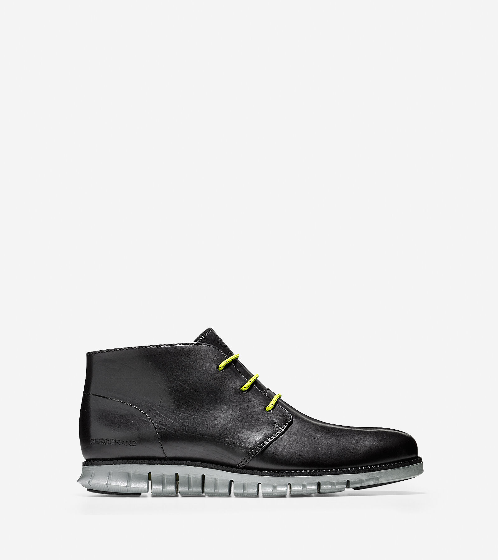 Latest Cole Haan Zerogrand.Chka.Btie Round Toe Suede Chukka Boot Black For Women Outlet