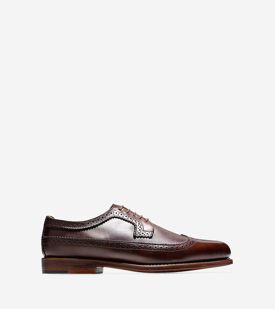 Shoes > Maine Long Wingtip Oxford