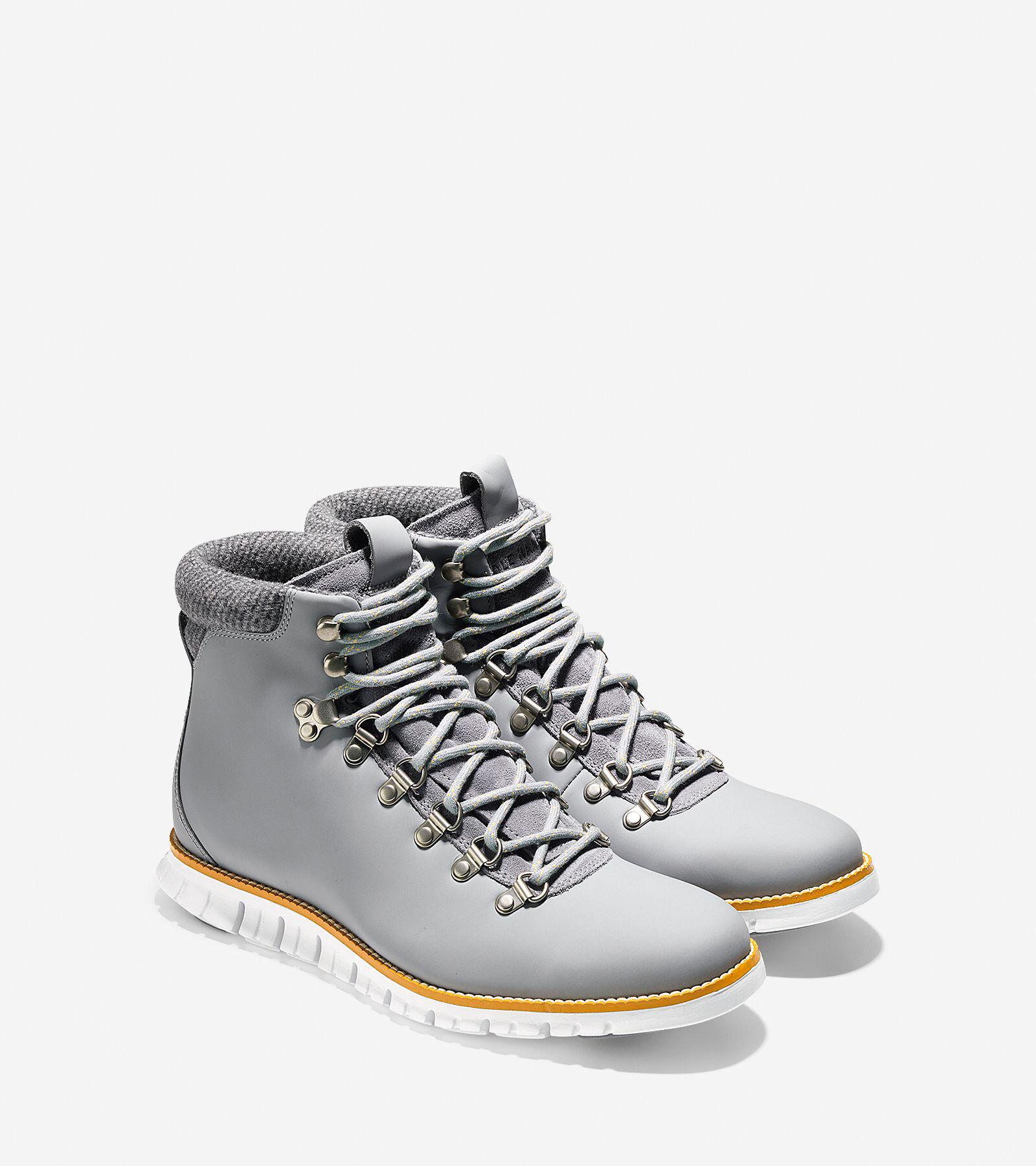 ... Men's ZERØGRAND Water Resistant Hiker Boot ...