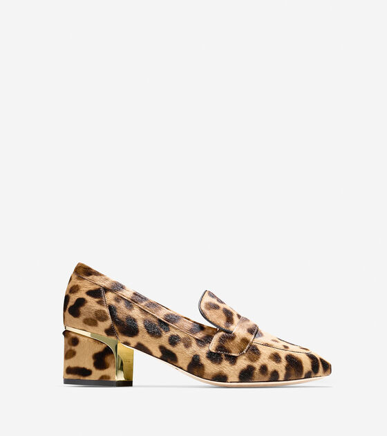 Loafers & Drivers > Collection Block Heel Loafer (50mm)