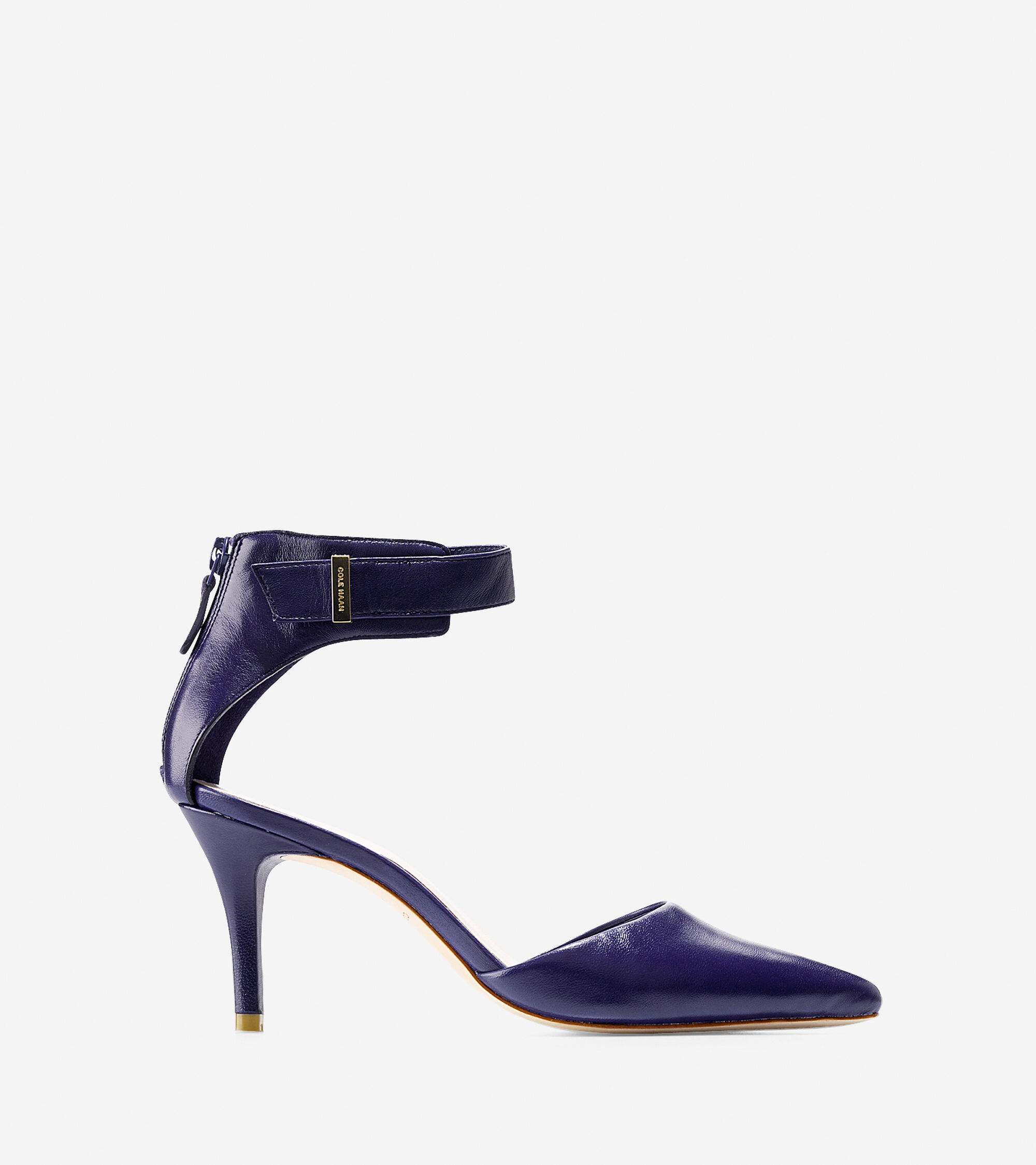 Shoes > Highline Back Zip Pump (75mm) - Pointy Toe