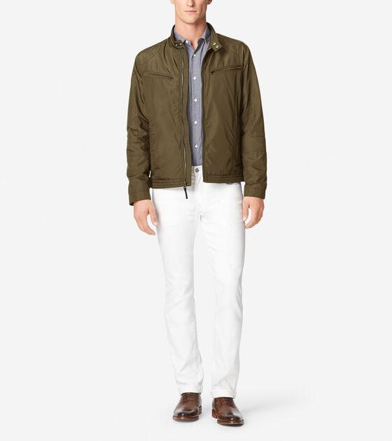 Outerwear > Lightweight Packable Moto Jacket