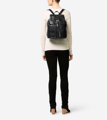 Loralie Weave Backpack